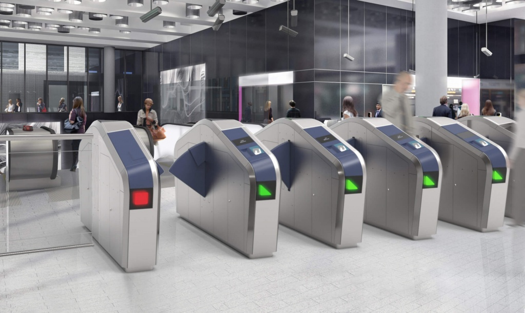 Public Design Metro Fare Gates We Are Perspective We